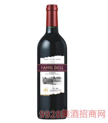 法国法玛蒂孚博特干红葡萄酒750ml13%vol