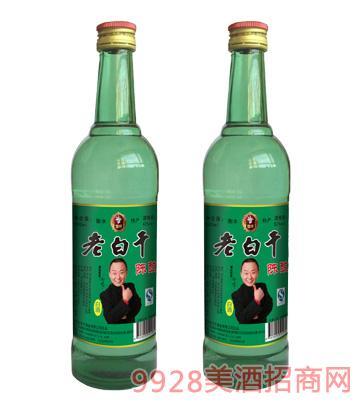 老白干酒陈酿绿瓶