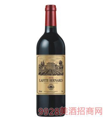 拉菲柏纳城堡干红葡萄酒750ml13%vol
