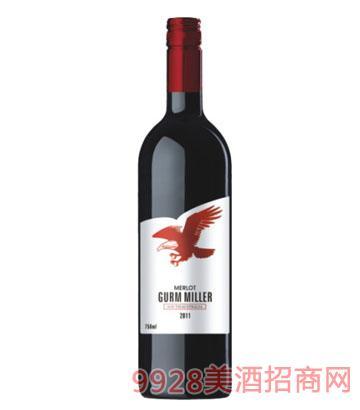 格姆米勒红鹰梅洛干红葡萄酒