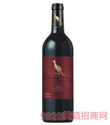 格姆米勒梅洛红葡萄酒
