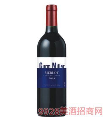 格姆米勒梅洛干红葡萄酒2014
