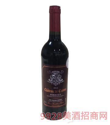波尔多狄卡诺酒庄红葡萄酒