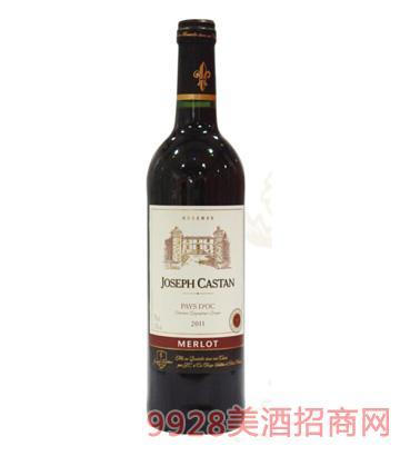 约瑟夫美乐珍藏红葡萄酒
