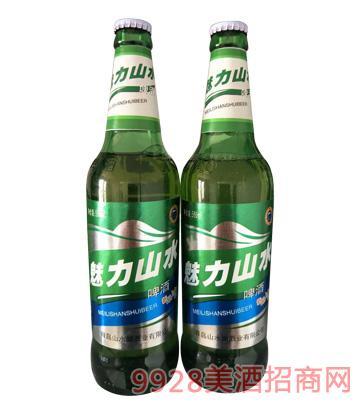 魅力山水啤酒500ml