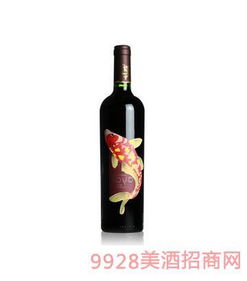 傲鱼梅洛红酒