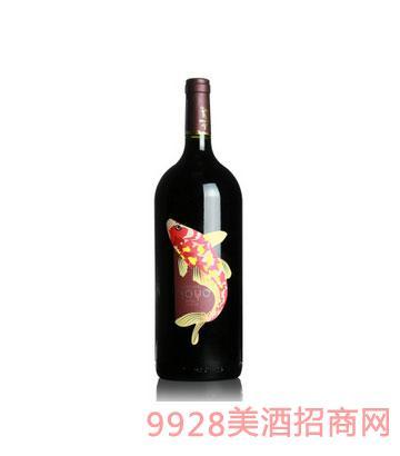 傲鱼梅洛葡萄酒