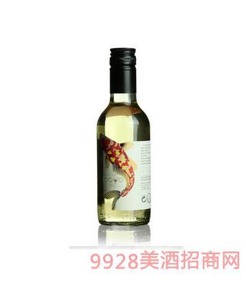 傲鱼霞多丽干白葡萄酒2015 187ml
