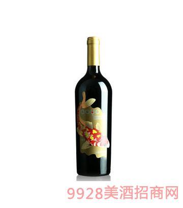 傲鱼限量珍藏马尔贝克红酒
