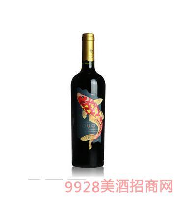 傲鱼珍藏赤霞珠红酒