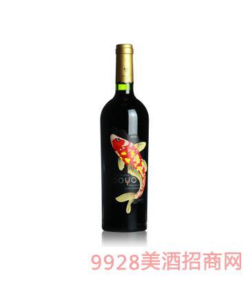傲鱼珍藏佳美娜红酒葡萄酒