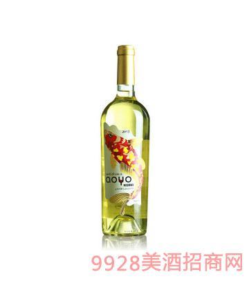 傲鱼珍藏霞多丽干白葡萄酒