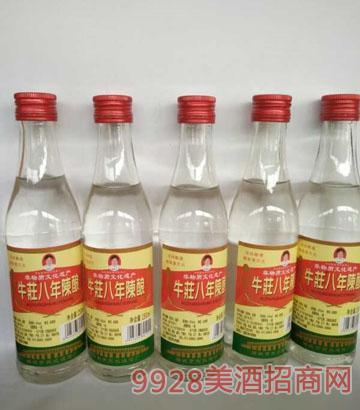 牛荘八年陈酿250ml酒