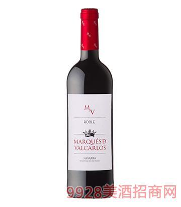瓦卡洛斯侯爵橡木红葡萄酒