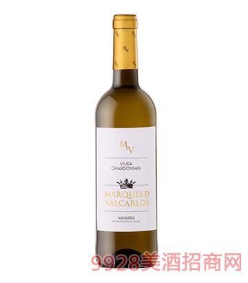 瓦卡洛斯侯爵白葡萄酒