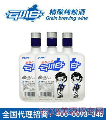 云小白时尚版300ml单瓶酒