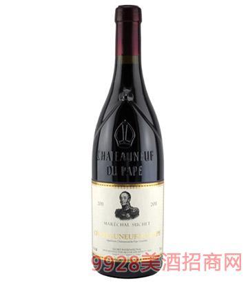 苏泽干红葡萄酒-教皇新堡