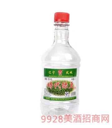 52度时代绿豆 1000ml酒