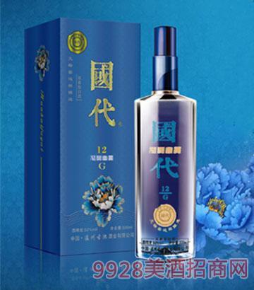 国代花开富贵G12(蓝)酒