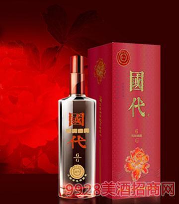 国代花开富贵G6(红)酒