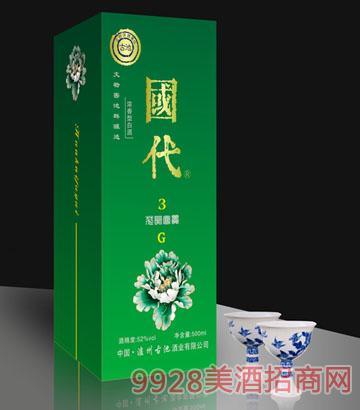 国代花开富贵G3(绿)酒