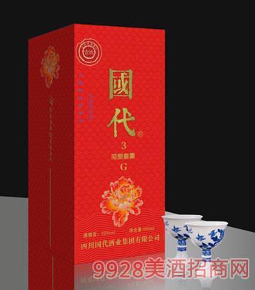 国代花开富贵G3(红)酒