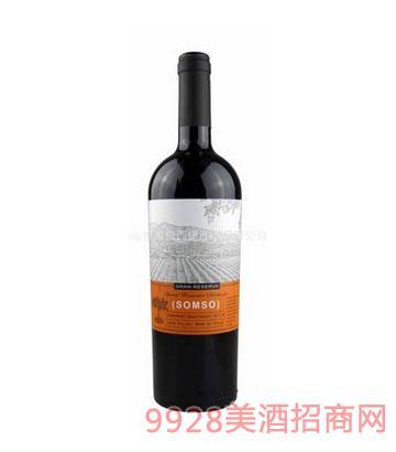 西堡赤霞珠干紅葡萄酒2014