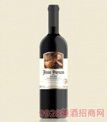 金色酒园橡木桶干红葡萄酒-c12