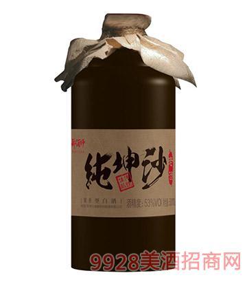 郑酒师酒纯坤沙新(布袋)