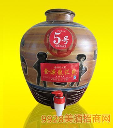 龙汇龙坛酒5号40度