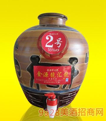 龙汇龙坛酒2号55度