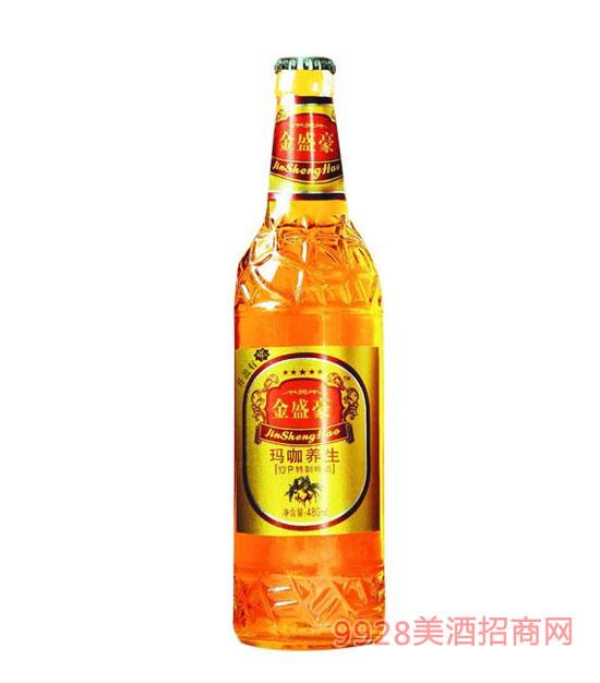 金盛豪玛咖养生啤酒480ml10°P