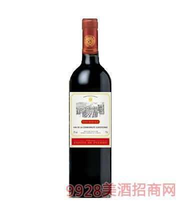法国波尔多皮埃尔伯爵酒庄干红葡萄酒