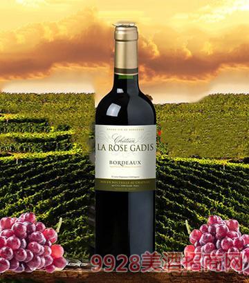 法国波尔多嘉迪诗酒庄干红葡萄酒