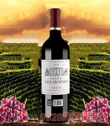 法国修道士城堡干红葡萄酒