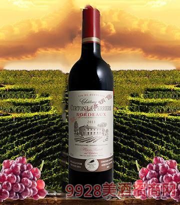 法国波尔多库特酒庄干红葡萄酒