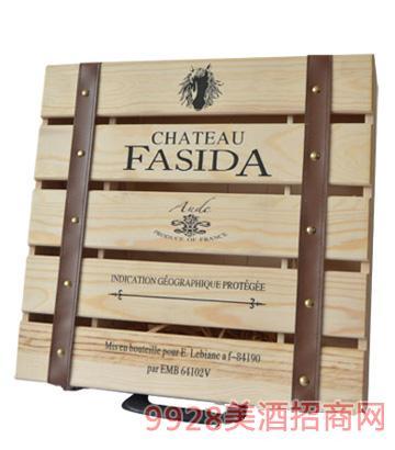 法斯达波尔多干红葡萄酒木箱