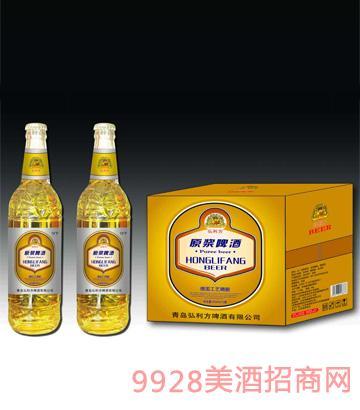 原浆啤酒13度500mlx12瓶