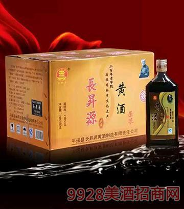 长升源黄酒450ml扁瓶