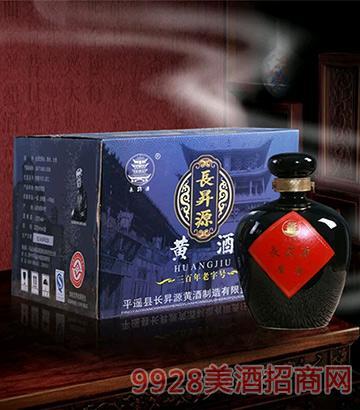 长升源黄酒2250ml黑坛
