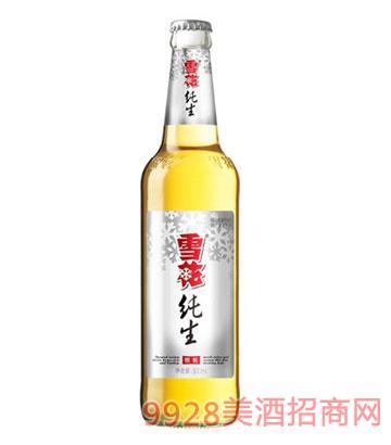 雪花啤酒純生