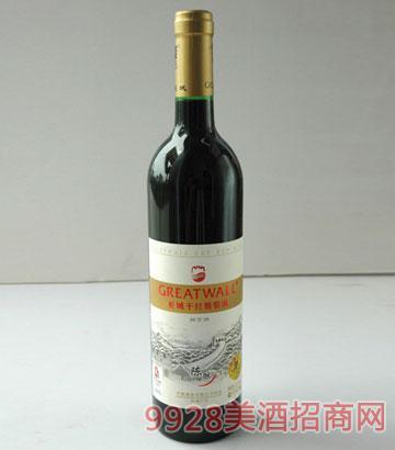 长城干红葡萄酒陈酿