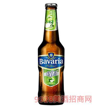 宝华利果味麦芽汁苹果啤酒