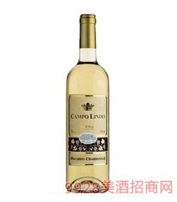 金司莎当妮干白葡萄酒