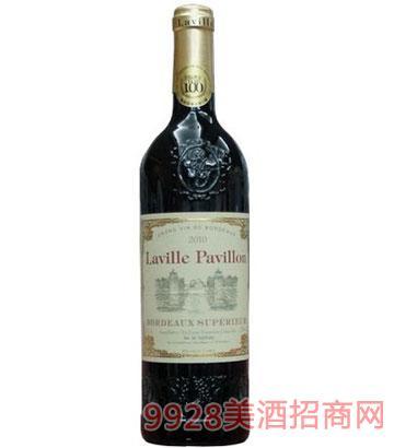 拉维亭波尔多干红葡萄酒橡木桶陈酿(原木箱)