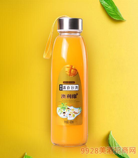 芒果汁饮料420ml