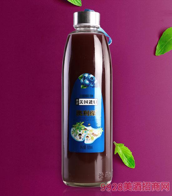 蓝莓汁饮料920ml