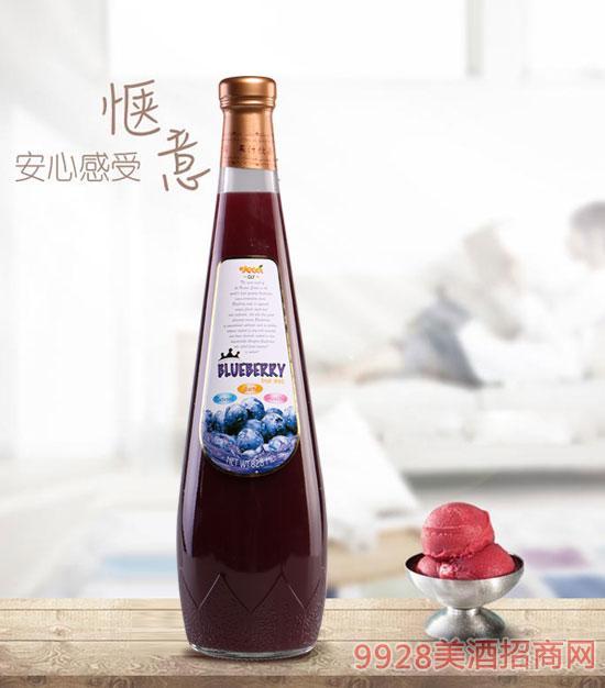 蓝莓汁饮料828ml