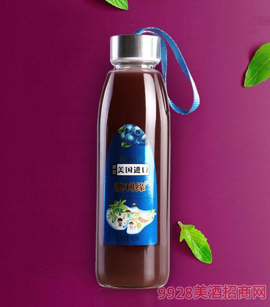 蓝莓汁饮料420ml