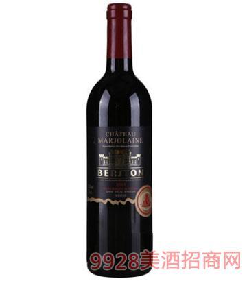 贝松罗兰美度干红葡萄酒